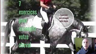 7 exercices pour assouplir votre cheval