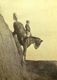 les descentes à cheval