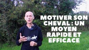 Motiver son cheval un moyen rapide et efficace